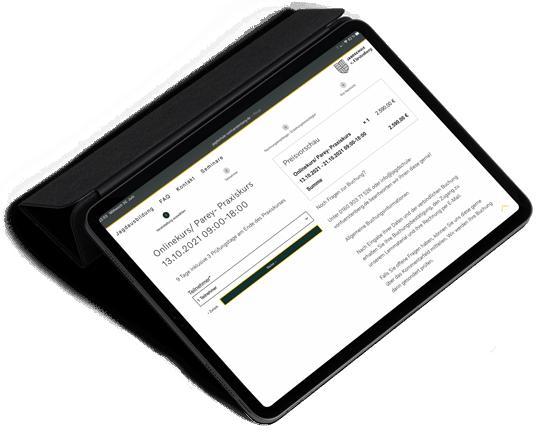 Anmeldung zum Jagdschein online Kurs Jagdschule v. Fürstenberg